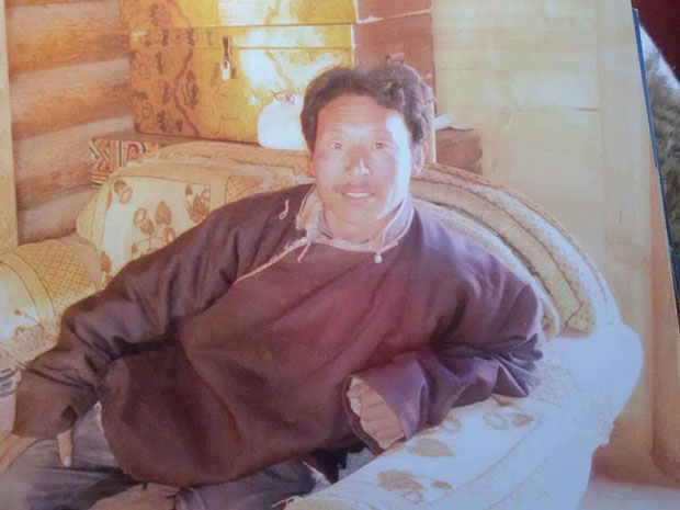 Tibetan protester Jamyang Dorje is shown in an undated photo. (Photo courtesy: RFA)
