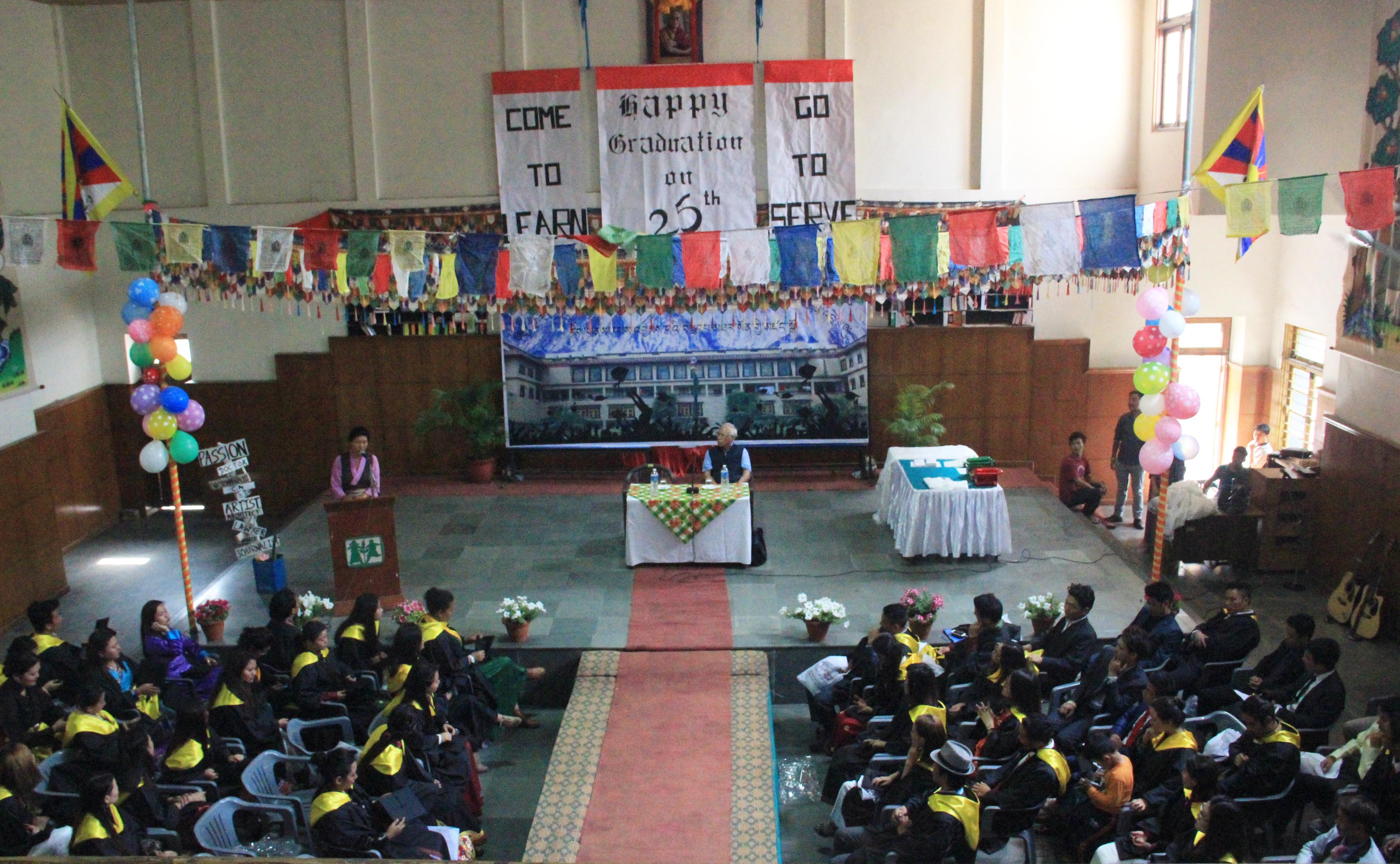 Tibetan SOS Youth Hostel in Rohini, northwest Delhi, observed the hostel's 25th anniversary on Mar 19. (Photo courtesy: SOSTYH)
