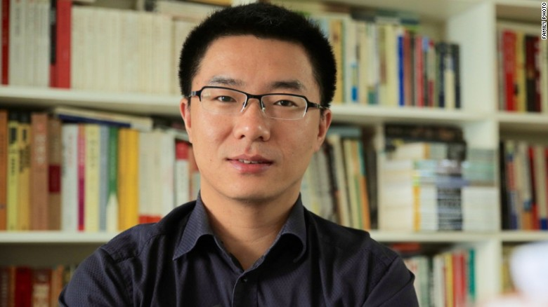 Chinese journalist Jia Jia has disappeared while on his way to board a flight from Beijing to Hong Kong to give a university talk. (Photo courtesy: CNN)