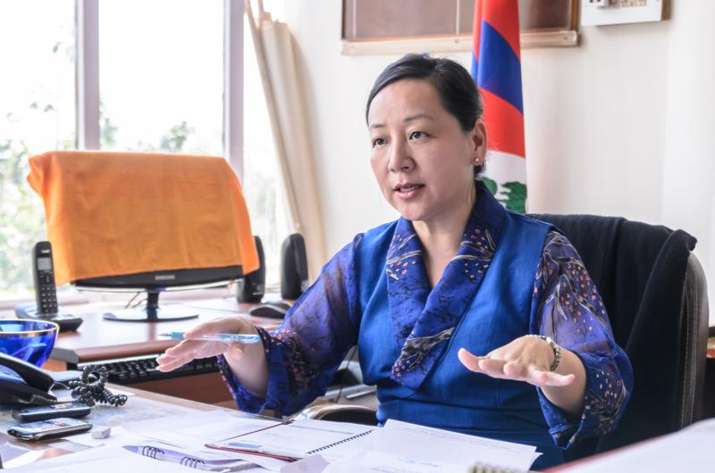 Former Information and International Relations  Kalon Dicki Chhoyang.