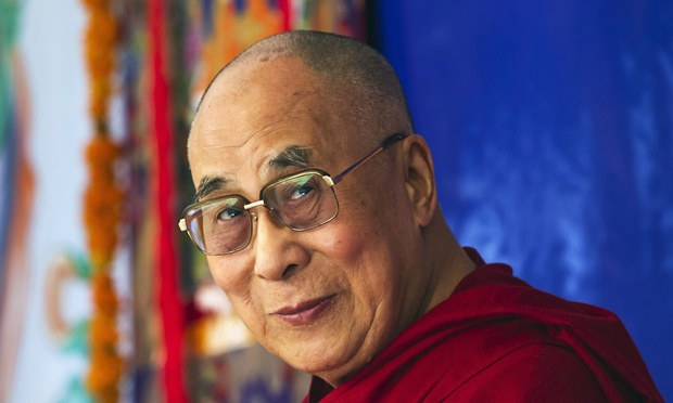 The Dalai Lama. (Photo courtesy: theguardian.com)