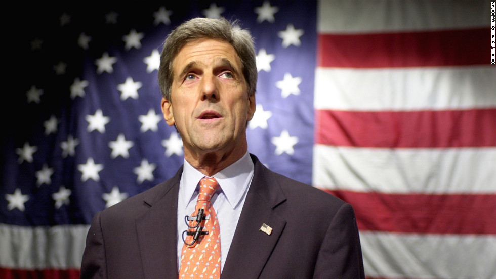 US Secretary of State John Kerry. (Photo courtesy: CNN)