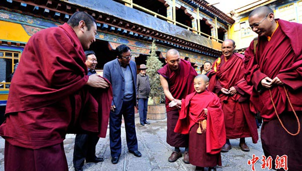 China says it had approved 60 'Living Buddhas' in Tibet