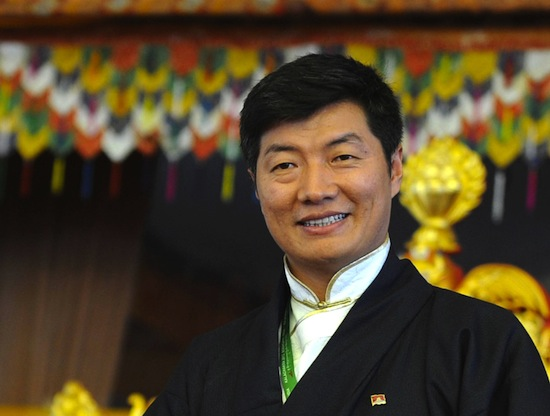 Sikyong Dr Lobsang Sangay. (Photo courtesy: AFP)