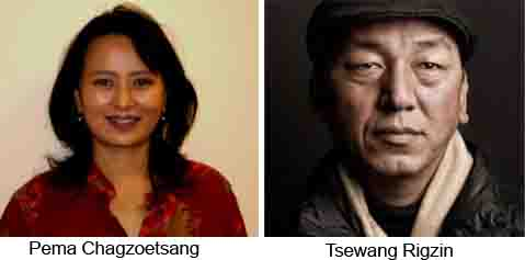 Pema Chagzoetsang and Tsewang Rigzin are the two North America Tibetan Chithues.