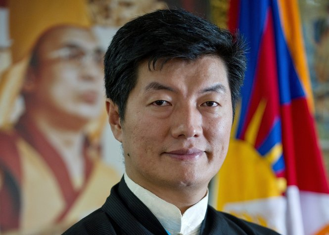 Sikyong Lobsang Sangay, the head of the exile Tibetan administration at Dharamshala. (Photo courtesy: al.com)