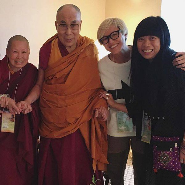 Hong Kong's Canto-pop singer and celebrity Ms Denise Ho Wan-see has said she had met with the Dalai Lama on May 10.