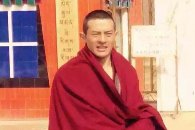 Monk and writer Jo Lobsang Jamyang,known by his pen name Lomig,shown in an undated file photo was sentenced to prison on unspecified charges. (Photo courtesy: RFA)