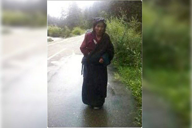 Sonam Tso Tibetan mother of five died after she carried out a protest self-immolation near a monastery in Dzoege. (Photo courtesy: RFA)