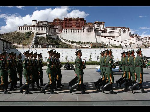 TIBET_CHINA_Army