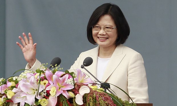Taiwan's new President Tsai Ing-wen. (Photo courtesy: AP)
