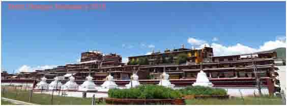 Tashi Dhargye Monastery 2015.