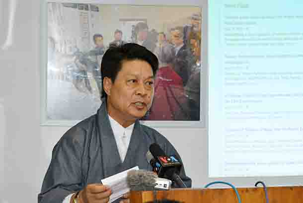 Mr Tashi Phuntsok, appointed as new representative of the Brussels Tibetan Bureau. (Photo courtesy: tibet.net)