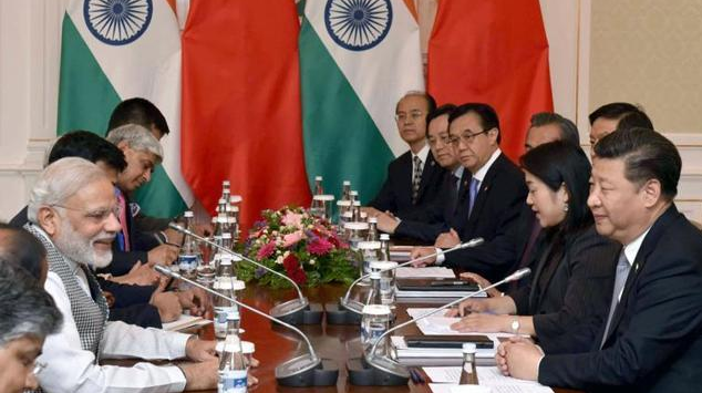 Indian Prime Minister Narendra Modi in a bilateral meeting with the Chinese President Xi Jinping, in Tashkent, Uzbekistan on June 23, 2016. India's bid for NSG membership was scuttled by China despite backing from many other countries including the US. (PIB Photo )