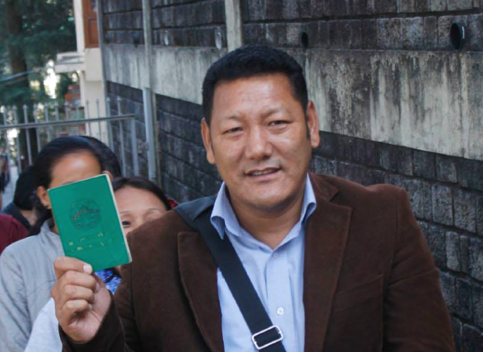 Dawa Rinchen elected new Dharamshala Tibetan Welfare Officer.