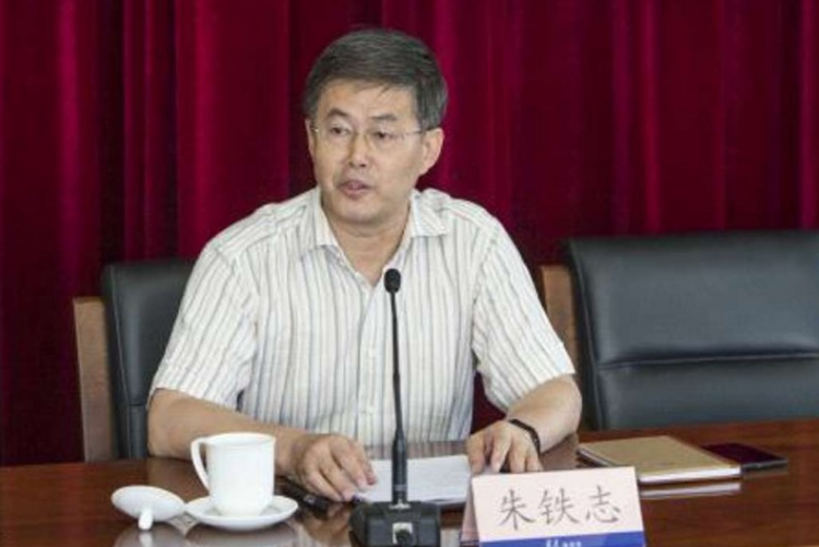 Zhu Tiezhi, 56, a well-known essayist on party theories and the deputy editor-in-chief of Qiushi. (Photo courtesy: SCMP)