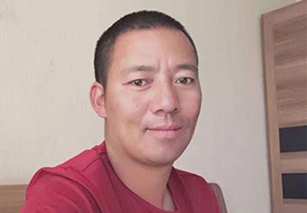 Khenpo Kartse is shown in an undated photo taken after his release from prison. (Photo courtesy: RFA)