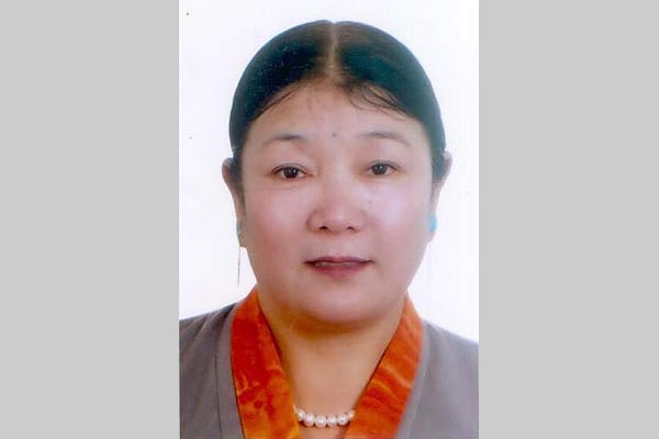 Ms Yeshe Choedron, a retired medical doctor in Tibet's capital Lhasa who is serving a 15-year jail sentence.
