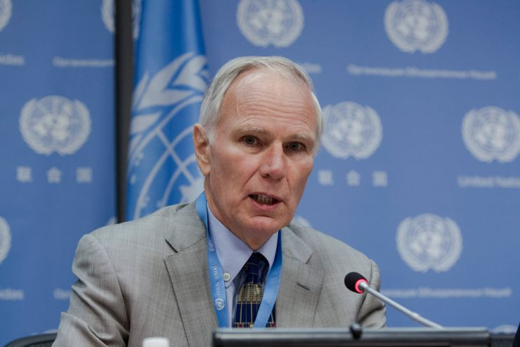 Philip Alston, the UN Special Rapporteur on extreme poverty and human rights. (Photo courtesy: UN)