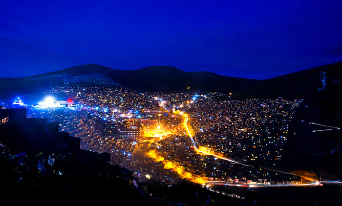 Larung Gar Buddhist Academy in Serta. (Photo courtesy: chinadiscovery.com)