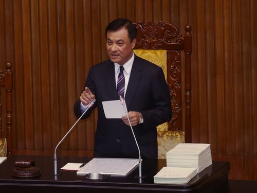 Legislative Speaker Su Jia-chyuan of Taiwan. (Photo courtesy: focustaiwan.tw)