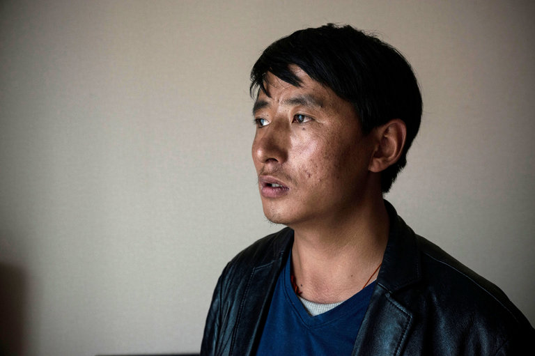 Tashi Wangchuk, a Tibetan entrepreneur and education advocate, could face up to 15 years in prison if convicted of inciting separatism. (Photo courtesy: NYT)