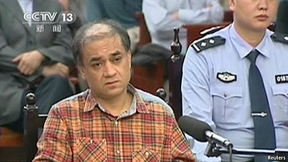 China jailed Ilham Tohti, a former professor at the Central University for Nationalities in Beijing.