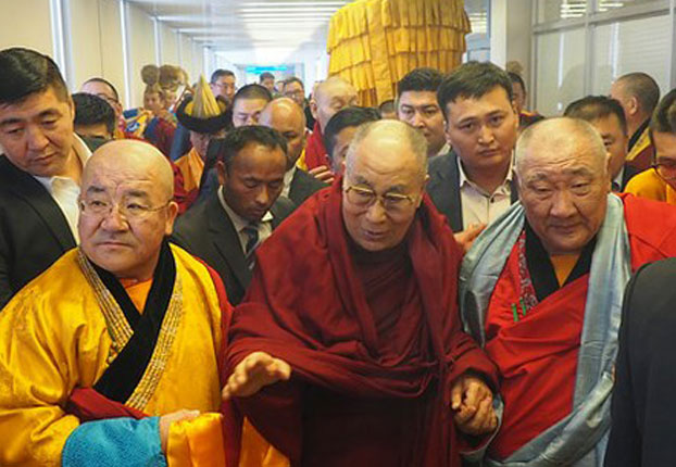 The Dalai Lama is to visit Mongolia for four days, beginning Nov 18, reported the AP Nov 17. The report cited Davaapurev, a monk at the Gandan monastery in the Mongolian capital Ulaanbaatar. (Photo courtesy: RFA)