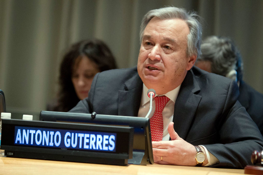 UN secretary general-elect Antonio Guterres. (Photo courtesy: un.org)
