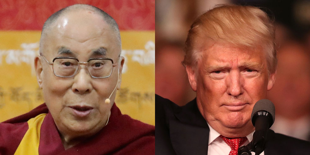 Chinese reports claiming Trump rejected a Dalai Lama meet trashed as fake news