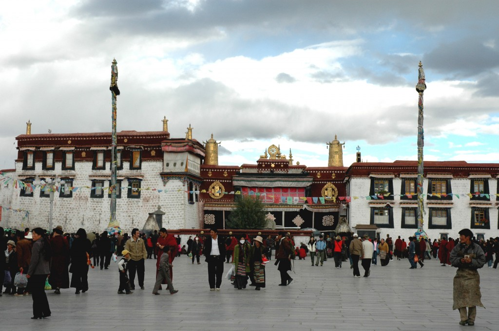Jokhang Temple in Lhasa, Tibet.