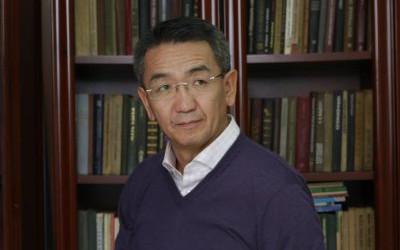 Mongolia's Foreign Minister Tsend Munkh-Orgil.