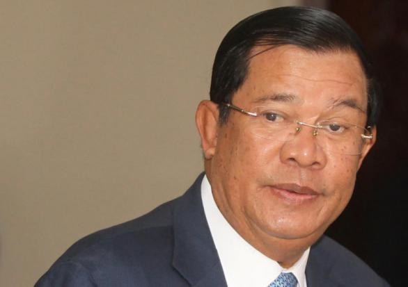 Cambodian prime minister warns against Taiwanese, Tibetan flags
