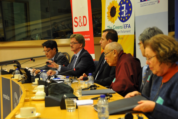 Conference on Tibetan reincarnation system held at European Parliament
