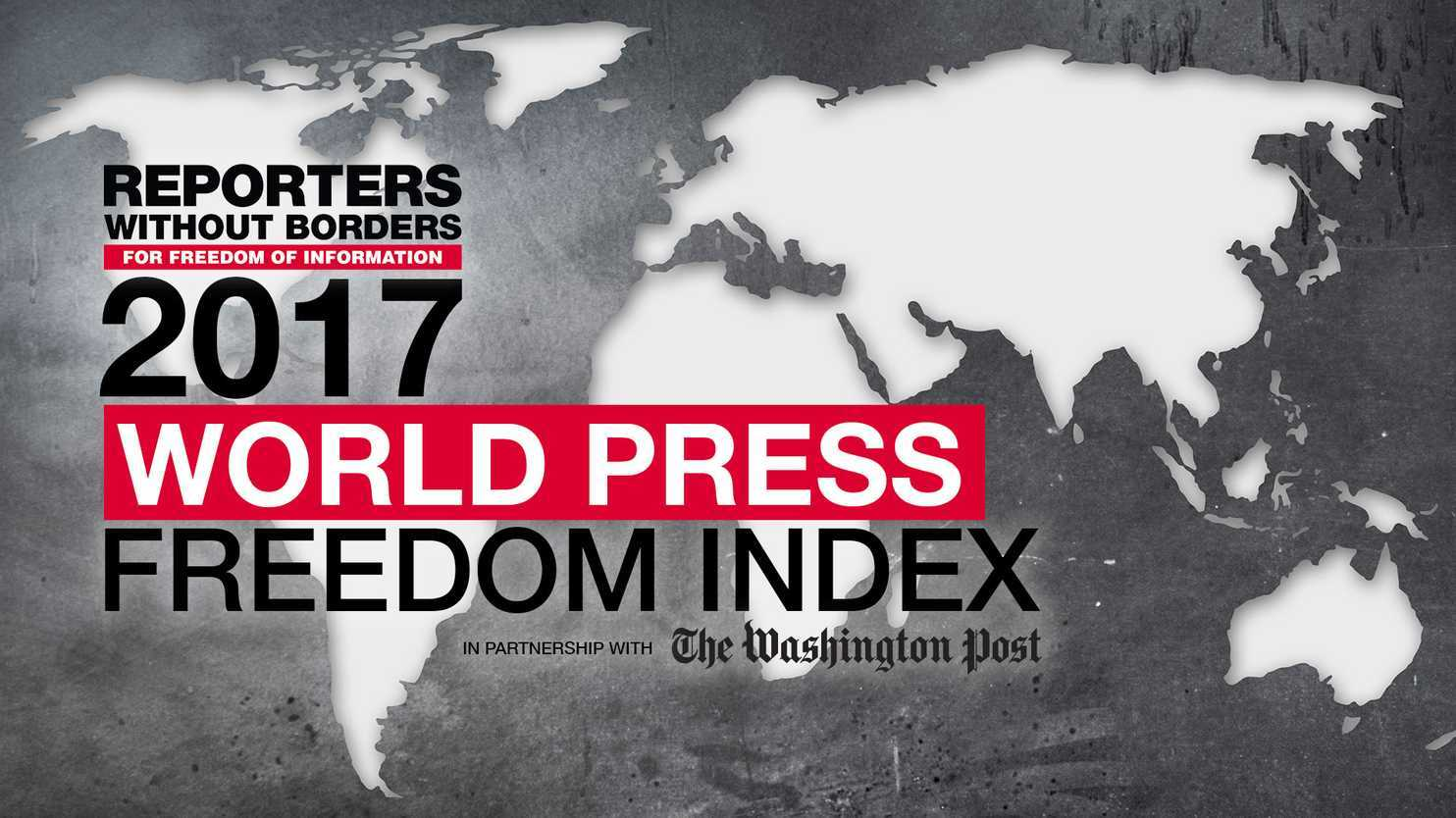 China ranked fifth worst in global press freedom index, is leading jailor of citizen journalists