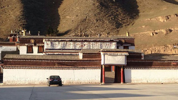 Bora monastery, a branch of Labrang Tashikyil monastery. (Photo courtesy: RFA)