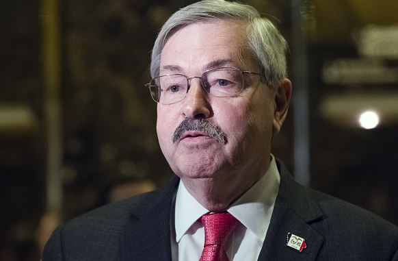 Iowa Governor Mr Terry Branstad will be the US Ambassador to China. (Photo courtesy: FT)