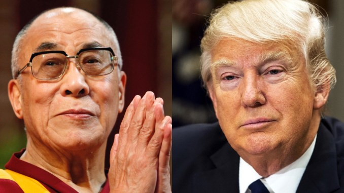 Dalai Lama and Trump
