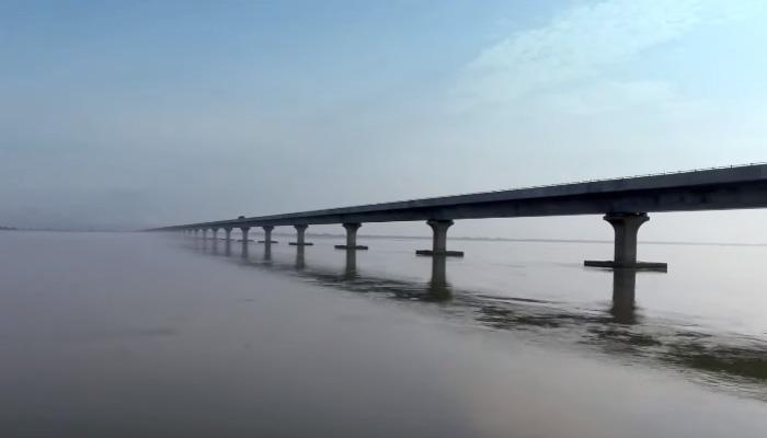 Bhupen Hazarika Bridge.