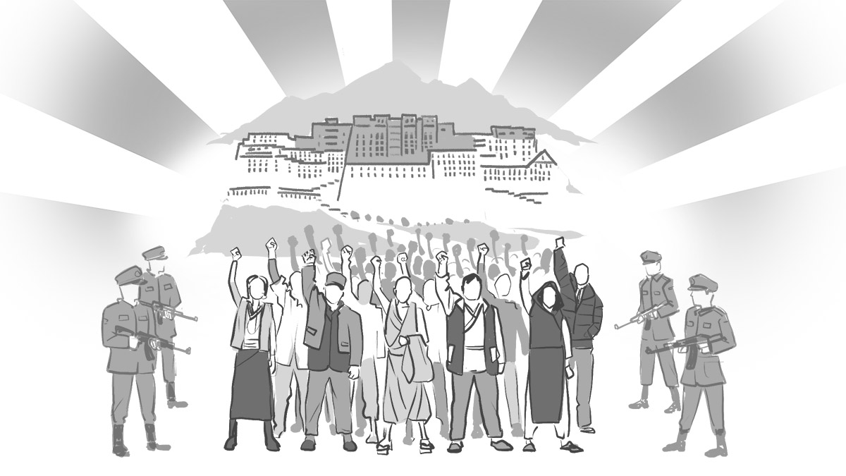 Human Rights Watch released on Jun 19 an illustrated glossary called Tibet: A Glossary of Repression. (Courtesy: HRW)