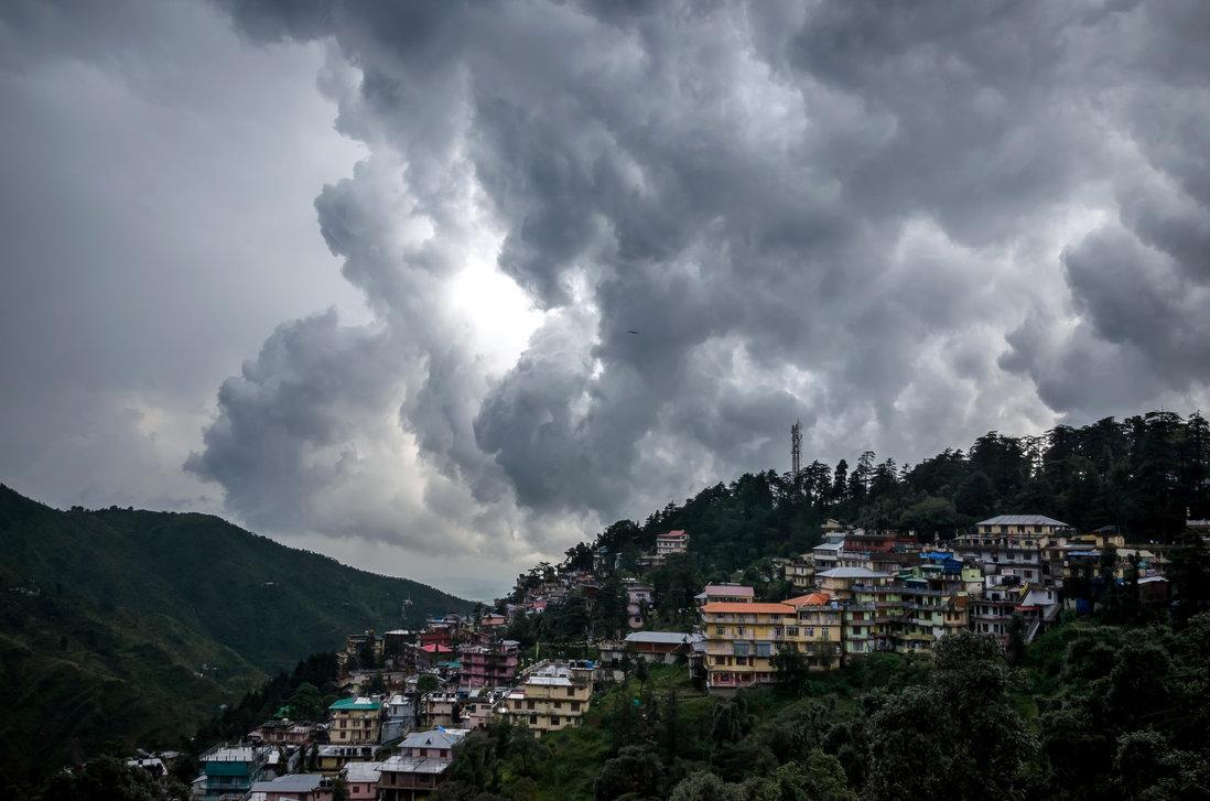 Dharamshala. (Photo courtesy: deviantart)