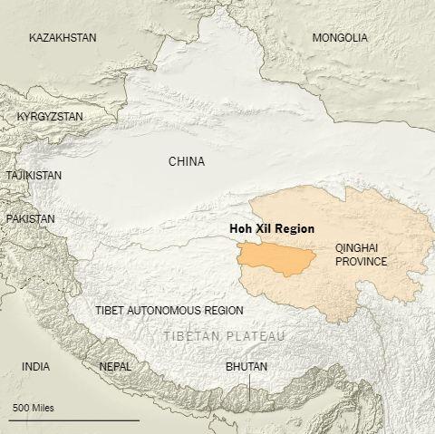Hoh Xil Region