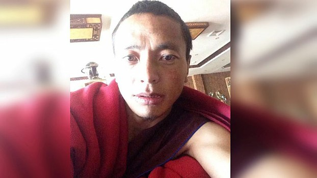 Jamyang Lodroe, 36, was tried and sentenced on Jul 4 by a court in Ngaba's Trochu. (Photo courtesy: RFA)