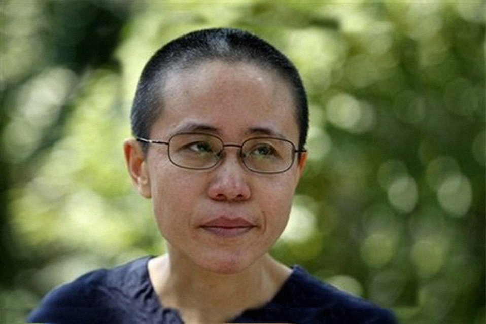 Liu Xia, wife of late Nobel Peace laureate Liu Xiabo. (Photo courtesy: China Digital Times)