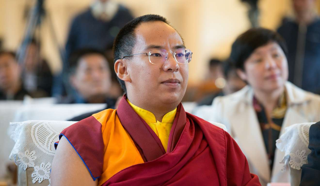 The Chinese appointed 11th Panchen Lama. (Photo courtesy: ImagineChina)
