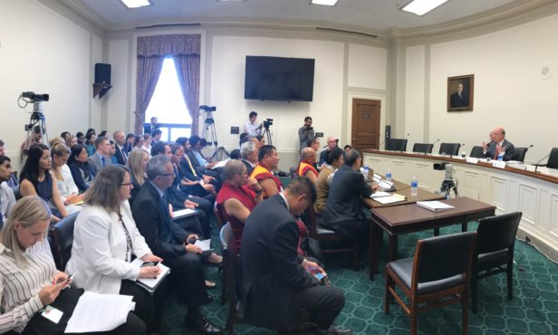The Co-Chairs of the Commission Congressman Jim McGovern and Congressman Randy Hultgren chair the US Tom Lantos Human Rights Commission Hearing On Tibet, 12 July 2017. (Photo courtesy: tibet.net)