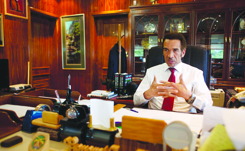 Botswana's President Ian Khama. (Photo courtesy: southernafrican.news)