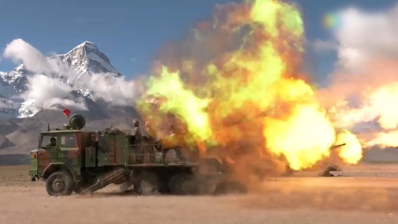 Western Theater Command of its People's Liberation Army's (PLA) had conducted military exercises in Tibet. (Photo courtesy: cgtn.com)