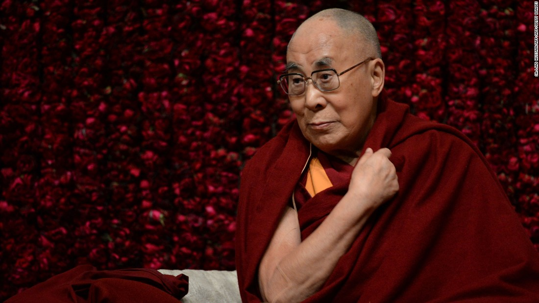 His Holiness the 14th Dalai Lama. (Photo courtesy: CNN)