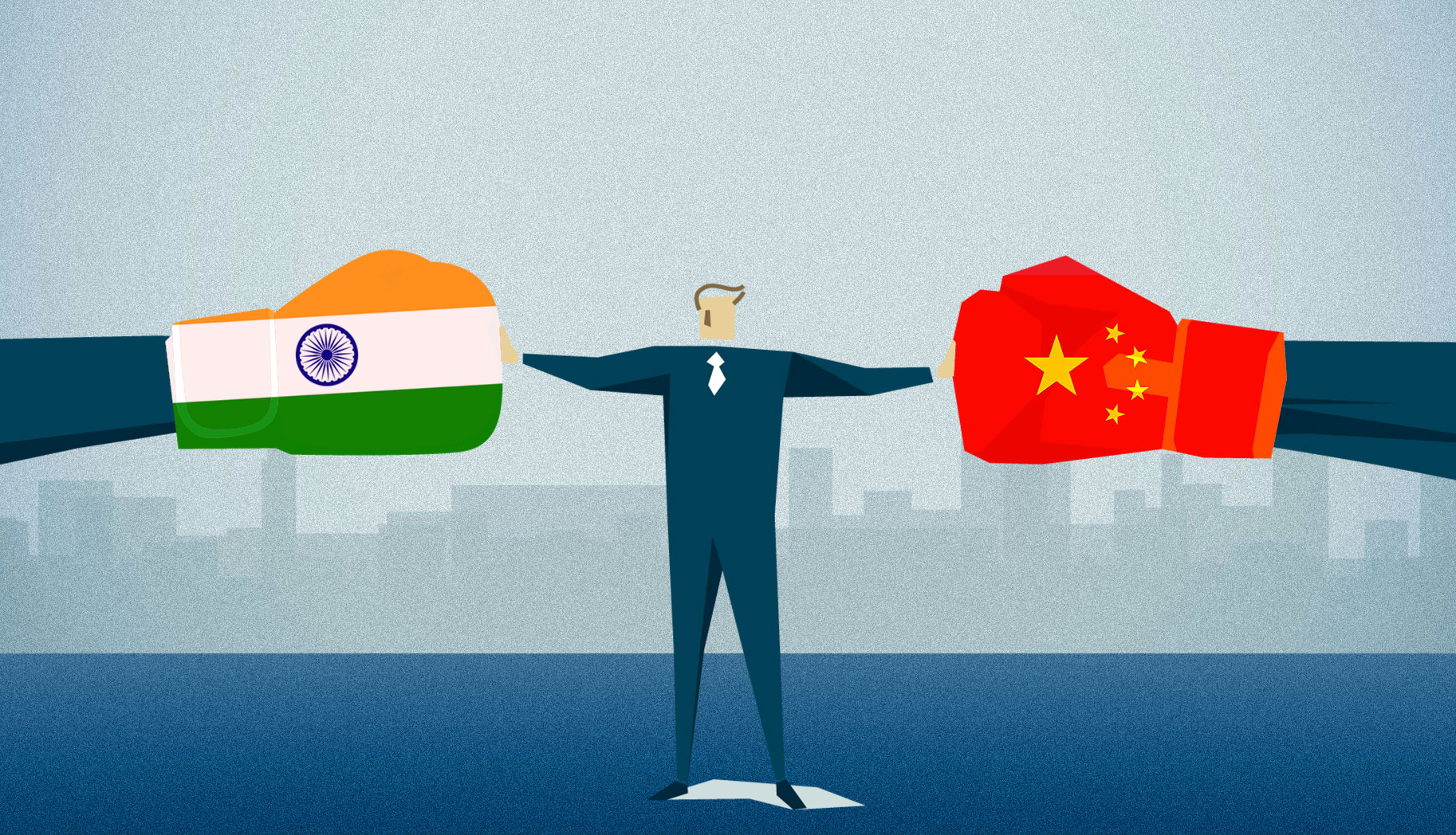 The United States has on Aug 27 expressed hope that India and China could negotiate a peaceful resolution to the ongoing Doklam standoff which had continued since Jun 16 while expressing support for the restoration of the status quo. (Graphic art courtesy: thequint)